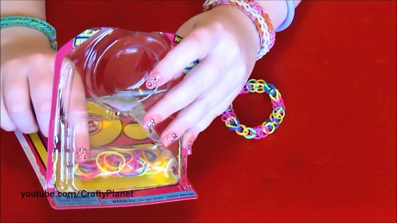 Rainbow Loom Rubber Band Haul - Dollar Store Rubber Band Bracelets, Rings, Charms, Twistz Bandz