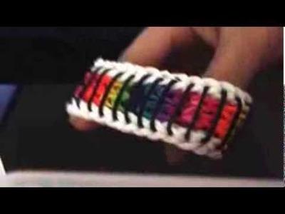 Rainbow loom sailors pinstripe