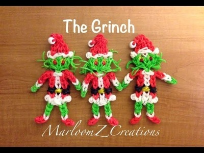 Rainbow Loom: The Grinch That Stole Christmas