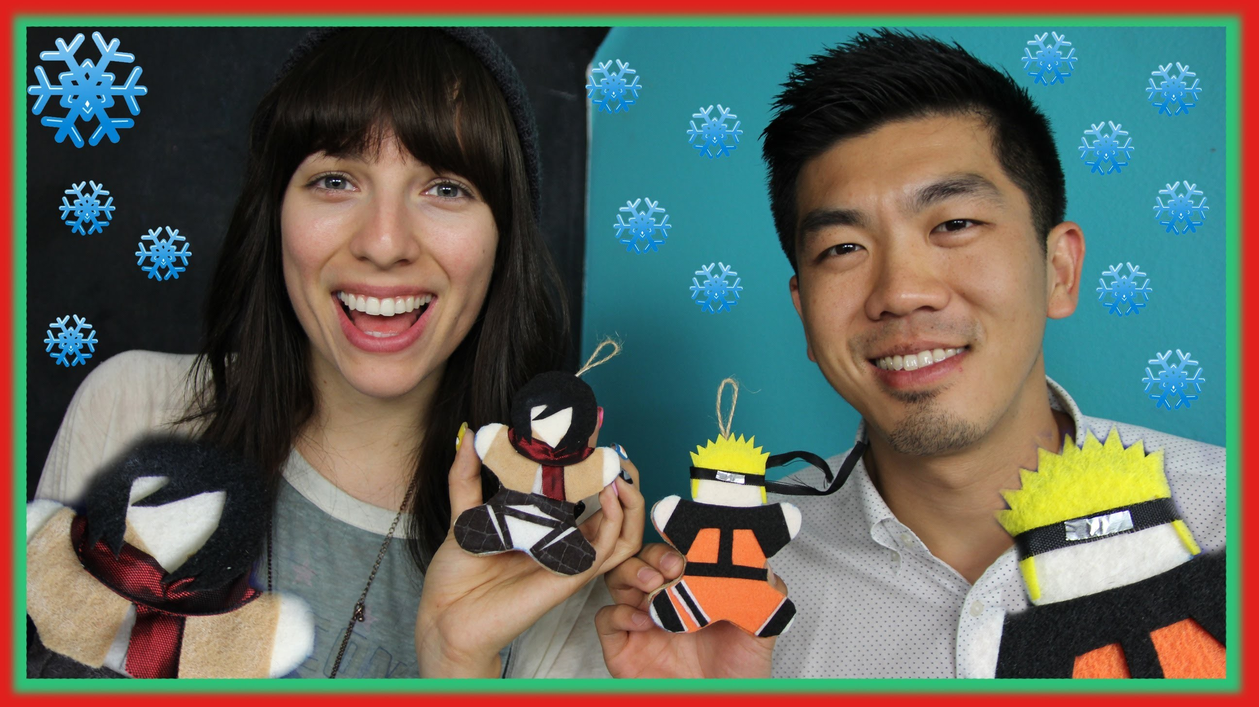 DIY ANIME ORNAMENTS W. ANTHONY LEE!