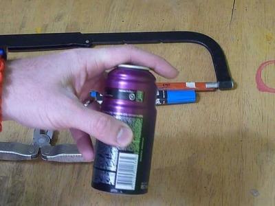 DIY: Axe - Body Spray alcohol stove