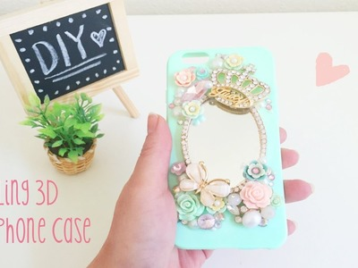 DIY Bling 3D cell phone case & LuxAddiction