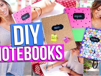 DIY Notebooks for Back to School! | Tara Michelle
