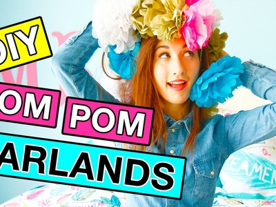 DIY Pom Pom Garland Room Decor With MayBaby! | Revved Up Rooms Ep 4
