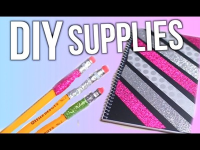 DIY School Supplies You Can Actually Make!