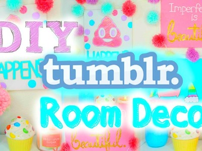 DIY Tumblr Room Decor 2015 | Cute & Easy Wall Art! ♡