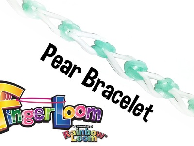 Finger Loom™ Pear Bracelet by the maker of Rainbow Loom