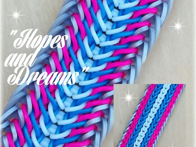"""Hopes and Dreams""  Hook Only bracelet. How To Tutorial"
