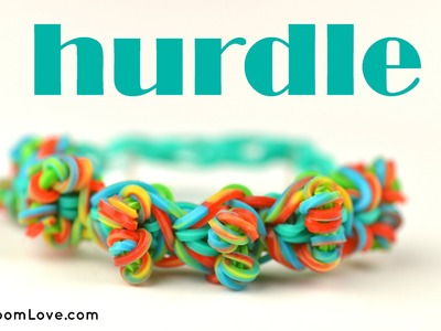 How to Make a Hurdle Rainbow Loom Bracelet
