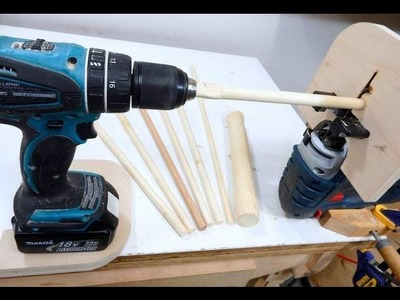How to Make Dowels with a Jigsaw