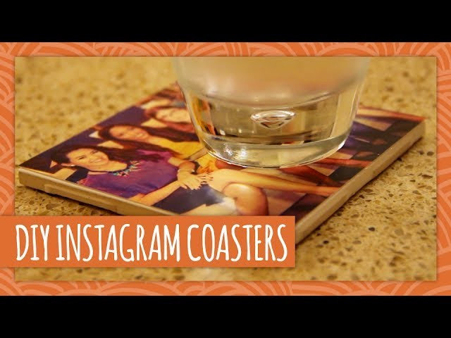 How To Make Instagram Photo Coasters