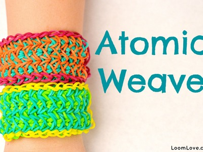 How to Make the Atomic Weave Rainbow Loom Bracelet