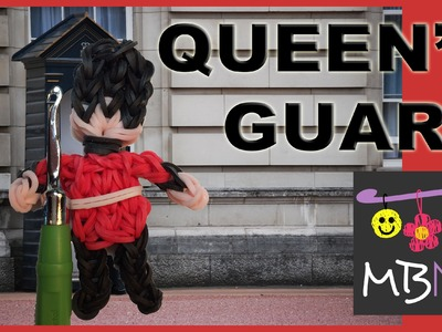 How to Make the Queen's Guard Charm on the Rainbow Loom
