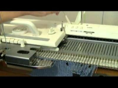 Machine Knit Fern Lace Demo by Diana Sullivan
