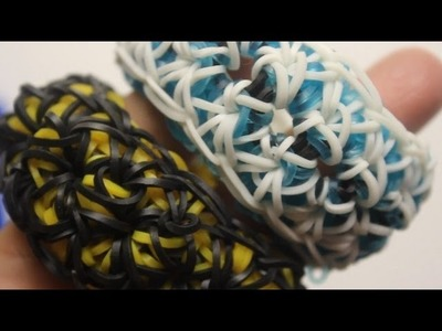 *NEW* Anchored Lace Bracelet Tutorial on the Rainbow Loom