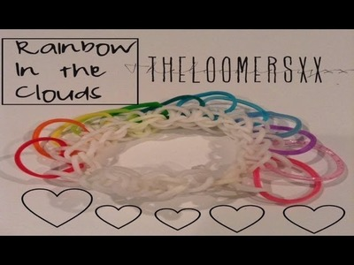 Rainbow In The Clouds Bracelet Tutorial