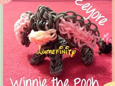 Rainbow Loom bands Eeyore - Winnie the Pooh figure by Lumefinity - How to