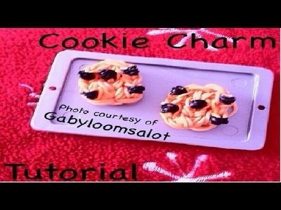 Rainbow Loom Chocolate Chip Cookie Charm: Gomitas