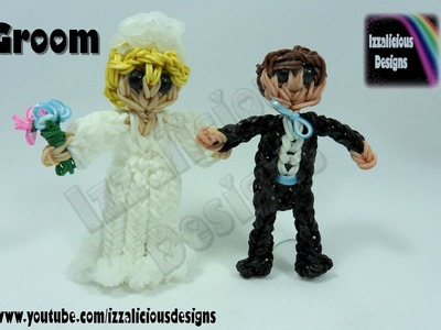 Rainbow Loom Groom Action Figure.Charm - Gomitas