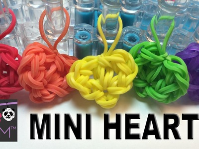 Rainbow Loom Mini Heart - Very Easy!