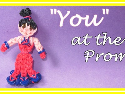"Rainbow Loom ""You"" in a Dress"