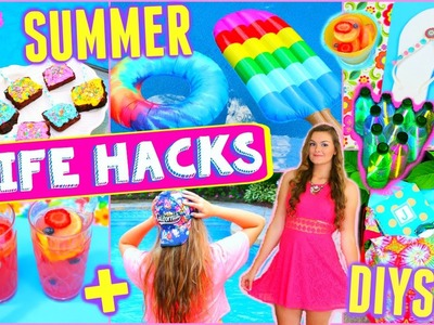 10 DIY Summer Projects & Life Hacks That Everyone Must Know!! | Activities, Food, & More!!