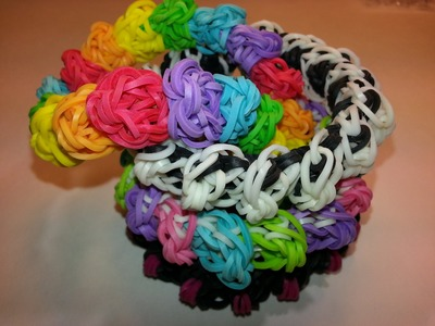 Armadillo Bracelet Tutorial by feelinspiffy (Rainbow Loom)
