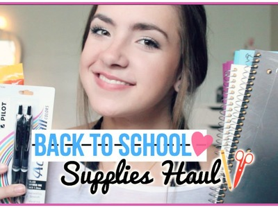 Back to School Supplies Haul + Organization!