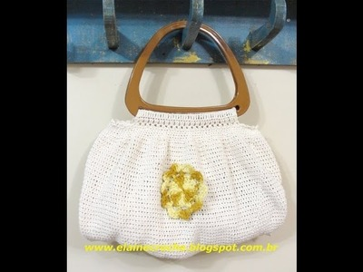 CROCHE - BOLSA NEW FAT BAG 1ª PARTE