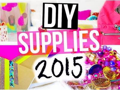 DIY: Cute + CHEAP School Supplies | BACK TO SCHOOL 2015!
