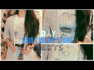 DIY Fault In Our Stars T-Shirts