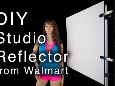 DIY Photography Reflector from Walmart