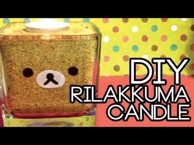 DIY Rilakkuma Candle