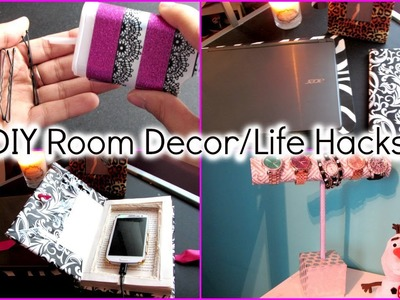 Diy Room Decor Life Hacks Easy Tumblr Diy Ideas & Easy Ways To Spice Up Your Room !!