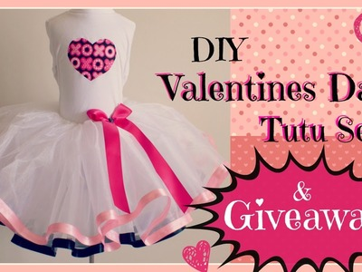 DIY Valentines Day Tutu & Giveaway