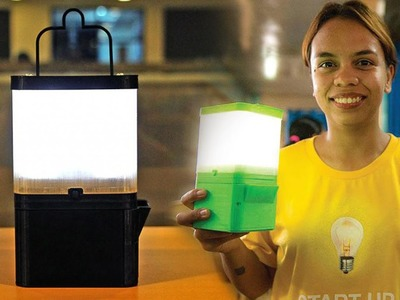 Filipinos invented a Lamp that runs in Salt and Water.