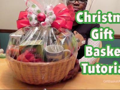 Gift Basket Tutorial - Christmas Gift Basket - GiftBasketAppeal