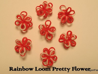 How to make Pretty Flowers on Rainbow Loom