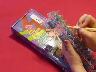 "♥ How To Make ""The Triple"" Band Bracelet With the Rainbow Loom ♥"