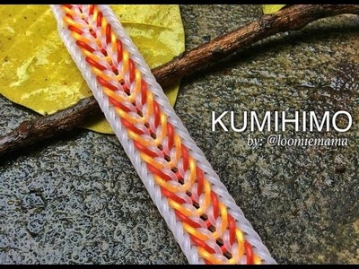 KUMIHIMO Hook Only bracelet tutorial