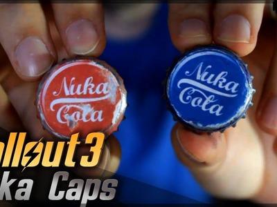 Nuka Cola Caps (Chapas). Fallout 3. Props Travel Kit Tutorial