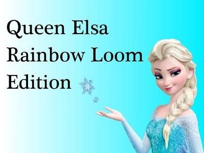 Queen Elsa from Frozen Rainbow Loom