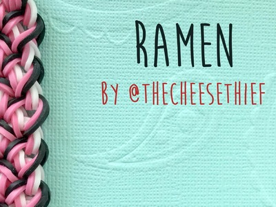 Rainbow Loom Bands Ramen Bracelet Tutorial