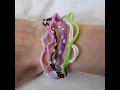 Rainbow Loom- How to Make a Tangled Tentacle Bracelet
