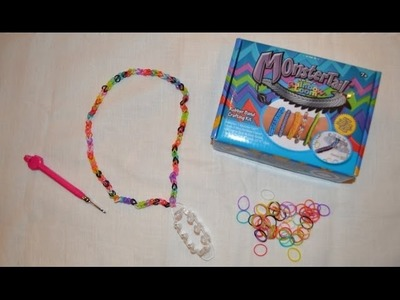 Rainbow Loom Monster Tail Necklace