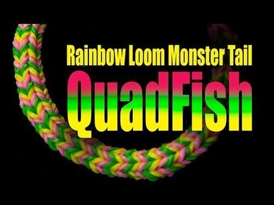 Rainbow Loom Monster Tail - QUADFISH