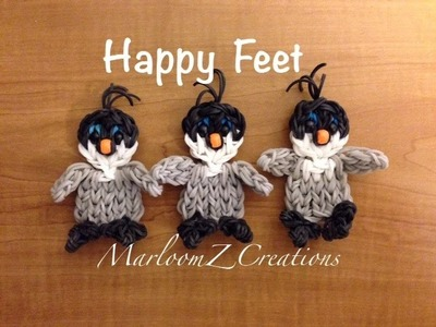 Rainbow Loom Penguin: Happy Feet Mumble