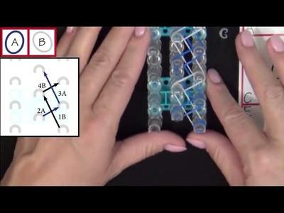 Rainbow Loom: Spiral Bracelet Tutorial