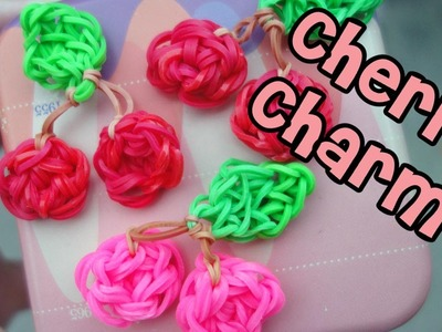 Rainbow Loom Tutorial: Cherry Charm