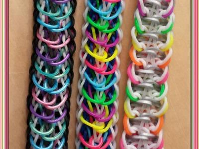 """Released"" Rainbow Loom Bracelet.How To Tutorial"